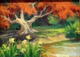 "Nancy Wernerbach's ""Sunlit Maple""  SOLD"