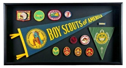 Scouting badges.