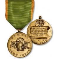 THE WOMEN'S ARMY CORPS SERVICE MEDAL