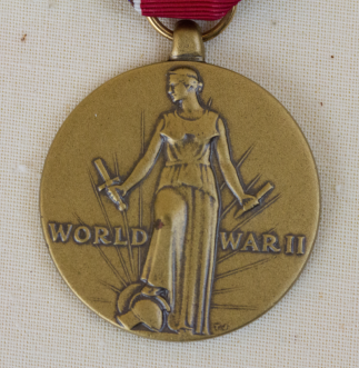 WWII VICTORY MEDAL FRONT